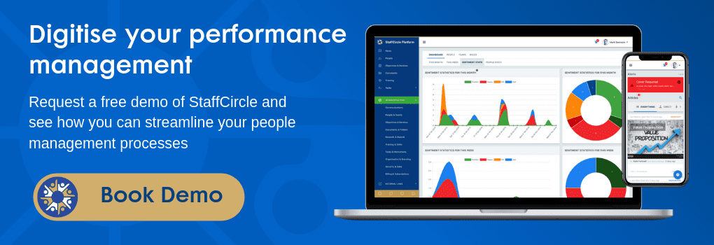 Performance management software book a demo